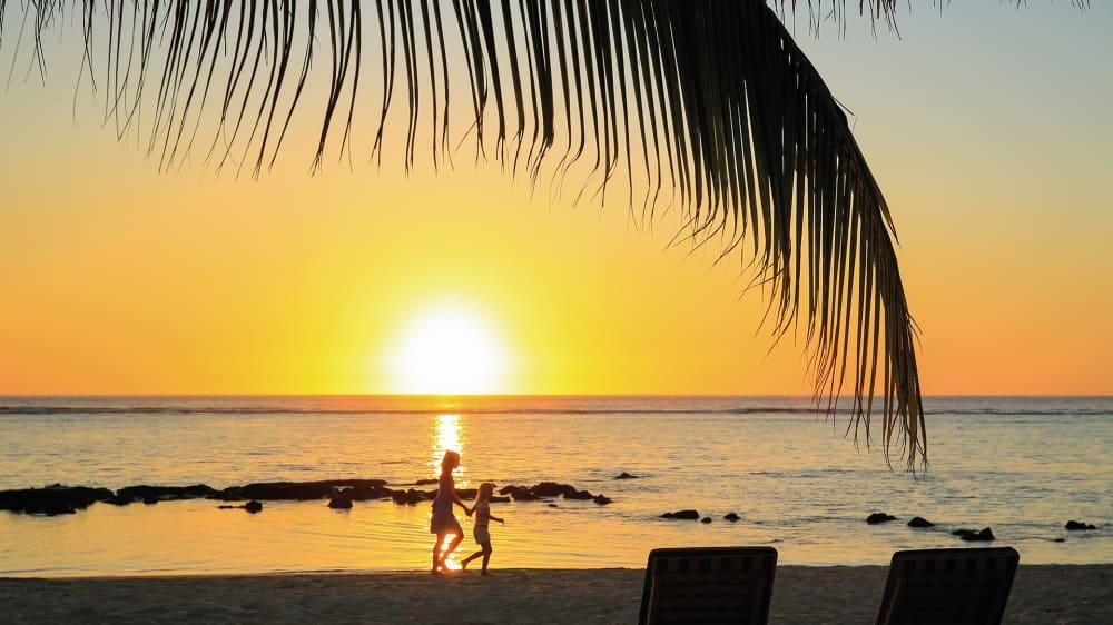 Beach silhouette z1vxlw