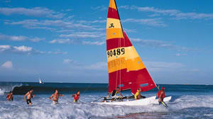 Sailing on a hobie cat eastern cape   south africa 2417710607 o ysljnq