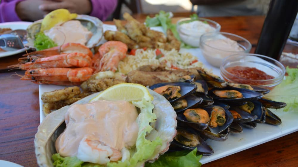 Seafood platter at trennerys hotel on the wild coast 9261400916 o setlaz