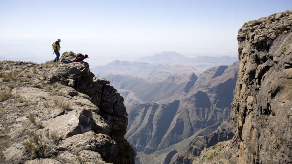 Looking over the edge drakensberg tsxh1l