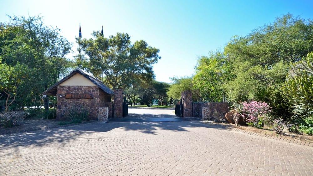 Letaba rest camp entrance gate nk0zit