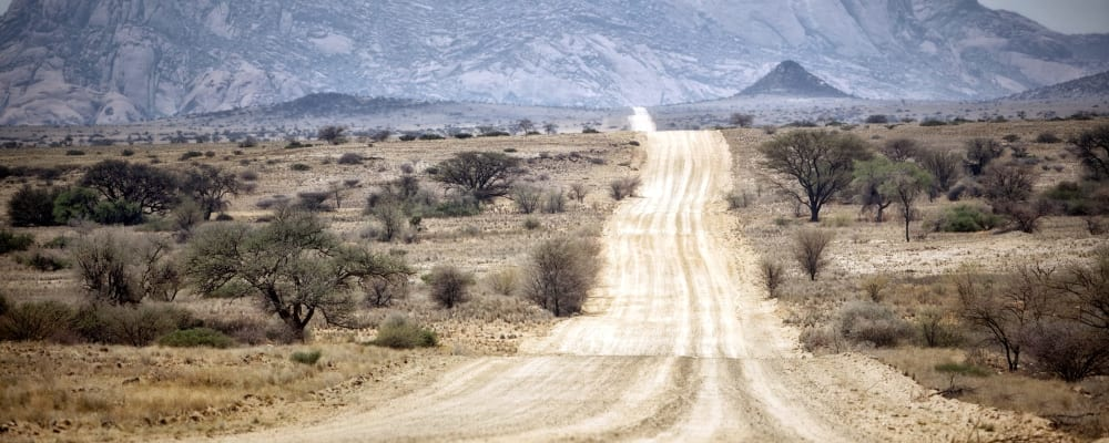 Road in namibia acaatf