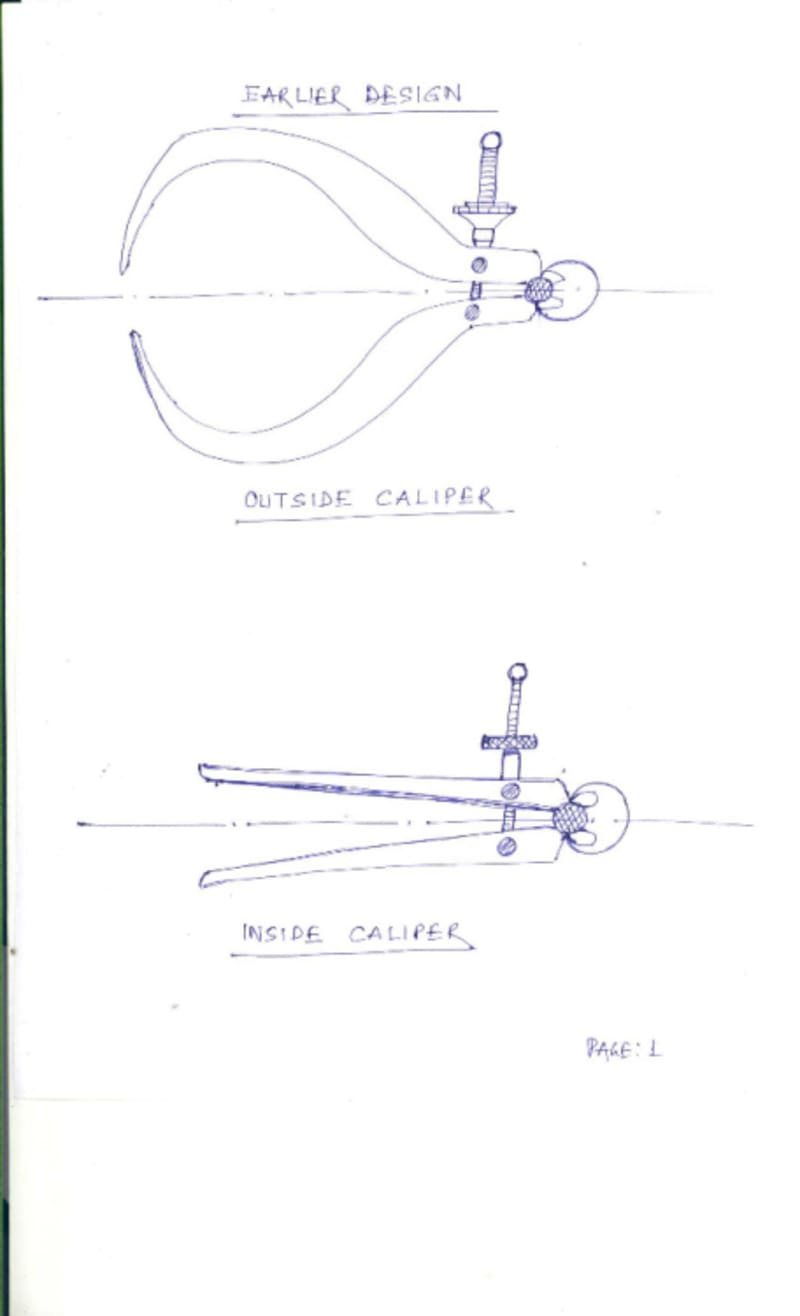 Improvement in design of Calipers for bambooCreate the Future Design Contest - Tech Briefs