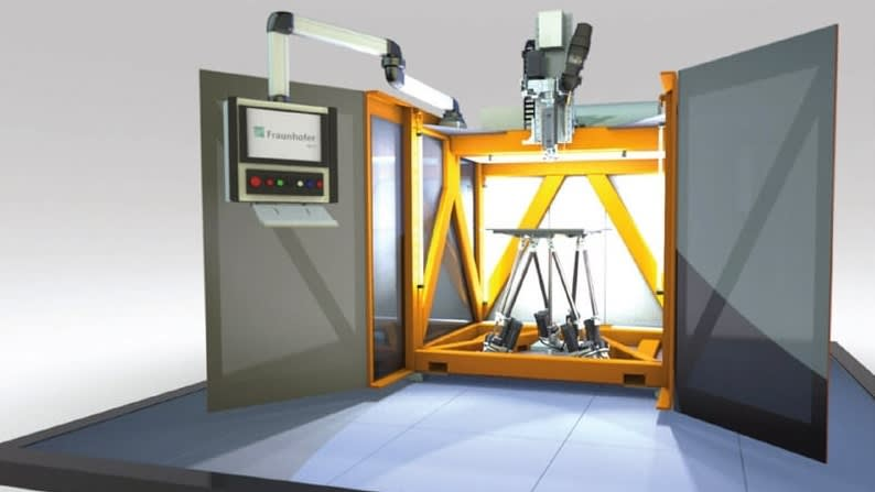 High-Speed 3D Printer for High-Performance Plastics