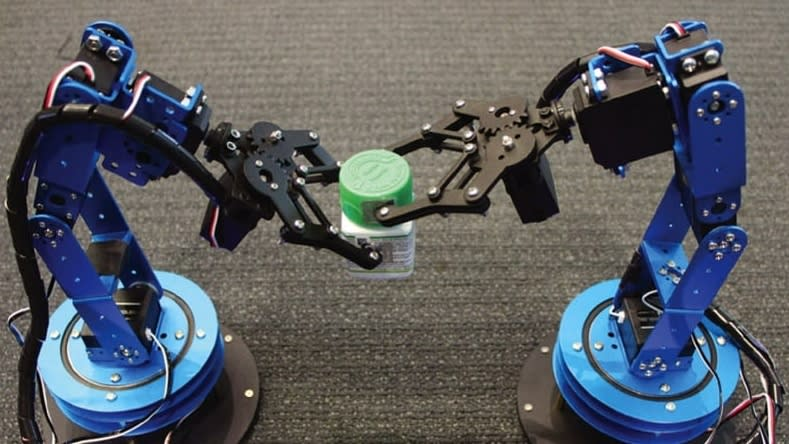 Robots Track Moving Objects with Sub-Centimeter Accuracy