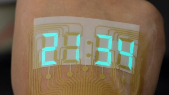 Light-Emitting Devices Now Safer for Skin-Worn Wearables