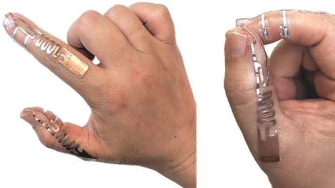 Battery-Free Computer Input Could Be Added to Surgical Gloves