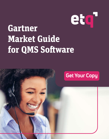 Gartner® Market Guide for Quality Management System Software