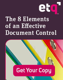 Learn the 8 Elements of Effective Document Control