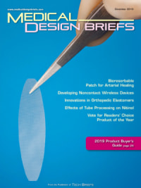 Medical Design Briefs - December 2019