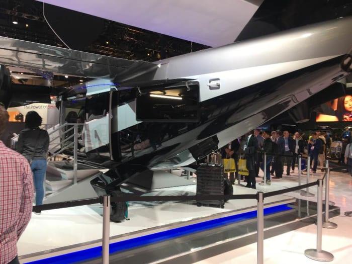 CES 2020, Bell Textron Bell Nexus 4EX sky taxi