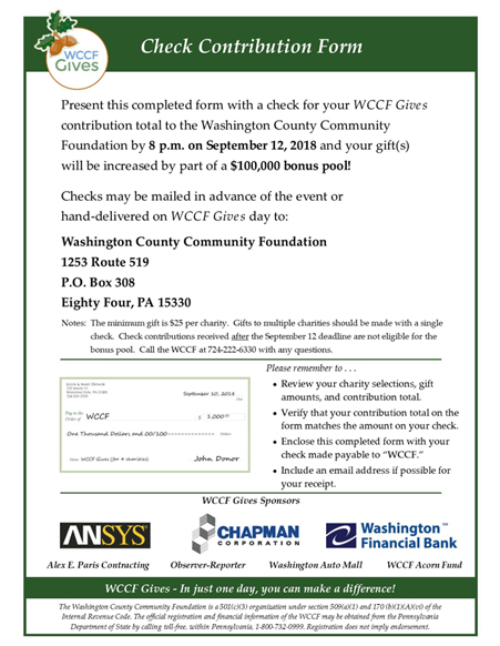 2018 WCCF Gives Check Contribution Form FRONT Resized 4
