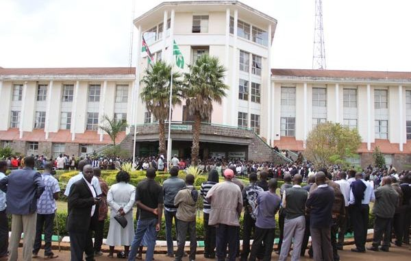 Moi University Strike