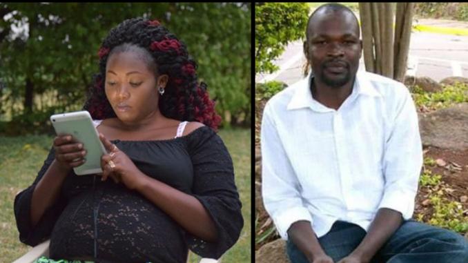 Sharon Otieno Ex-Husband