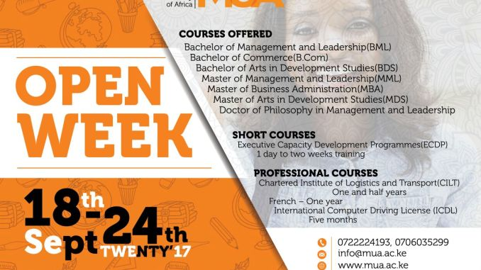 Management University of Africa