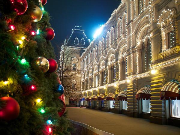Фото прогулка по Предновогодней столице