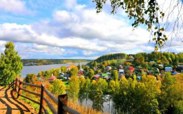 Город русского пейзажа