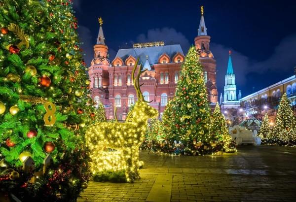 Новогодняя Москва+ ВДНХ