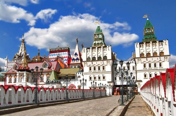 Златоглавая столица с посещением Измайловского кремля