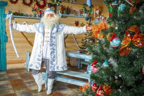 На день рождения Деда Мороза