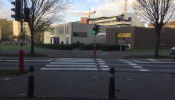 Image Computerwetenschappen_Access way from Celestijnenlaan to the courtyard