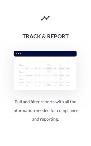 Track & Report