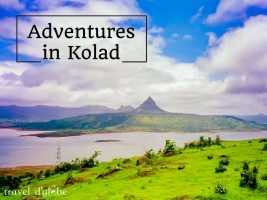 Kolad Rafting Adventures near Kundalika River