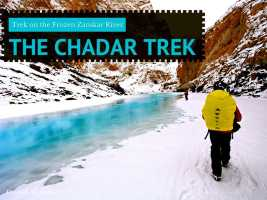 The Chadar Trek in Ladakh