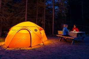 Standard Tent in Pioneer Adventure Tours