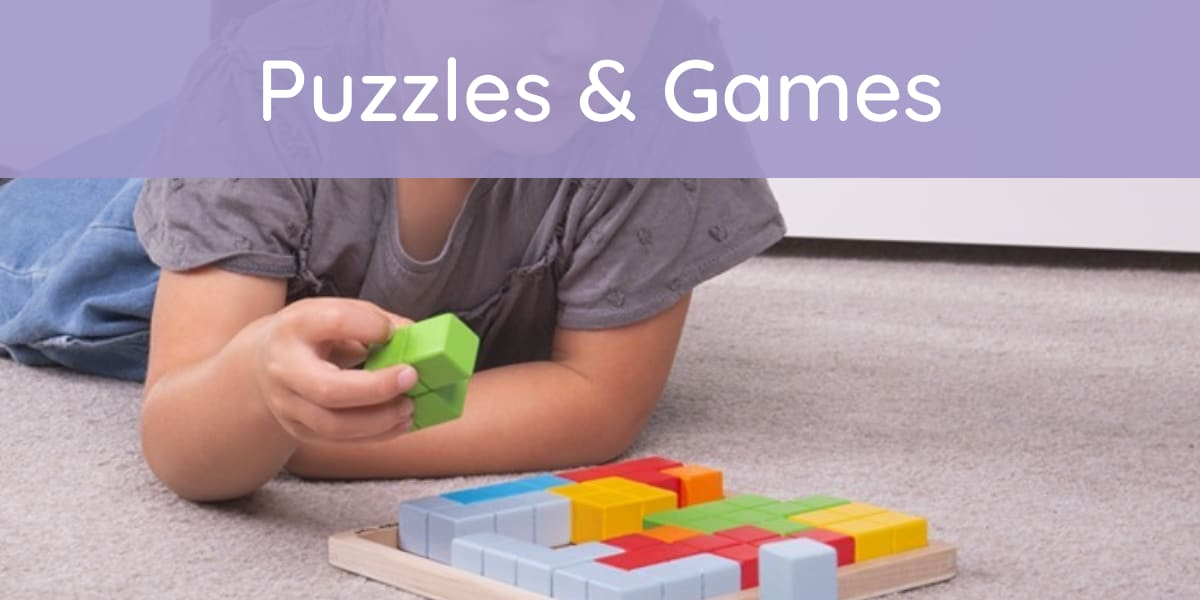 Buy kids puzzles & games