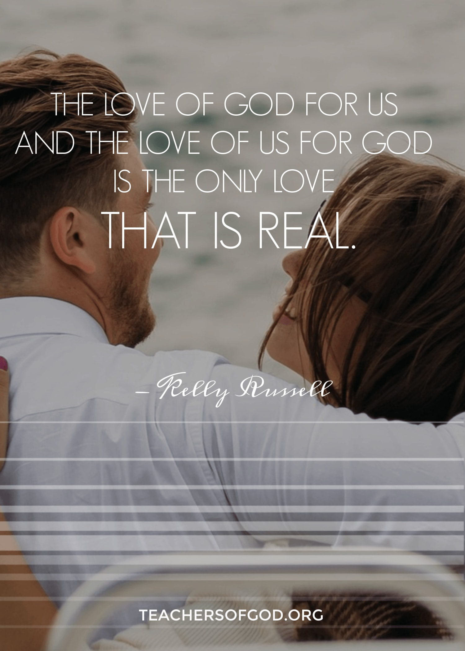 love of god for us