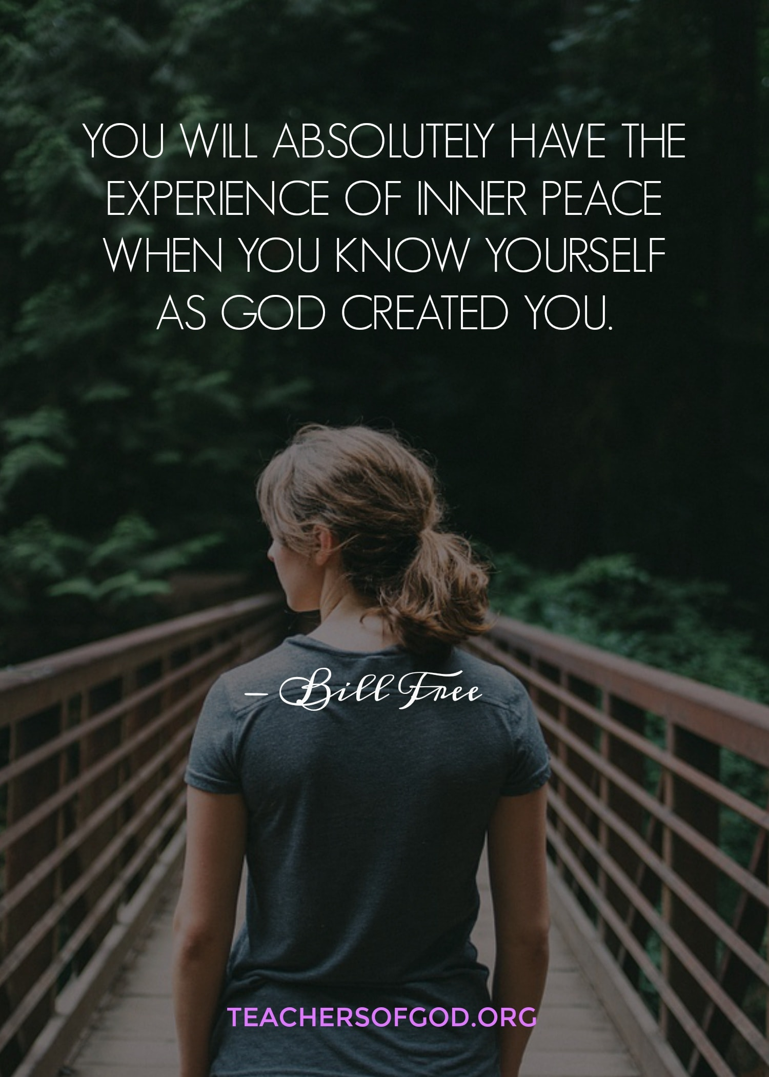 Experience of Inner peace