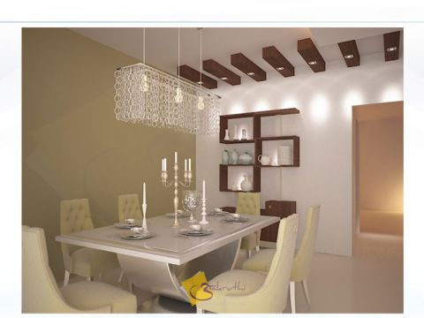 DINING ROOM  Aakruthi Interiors