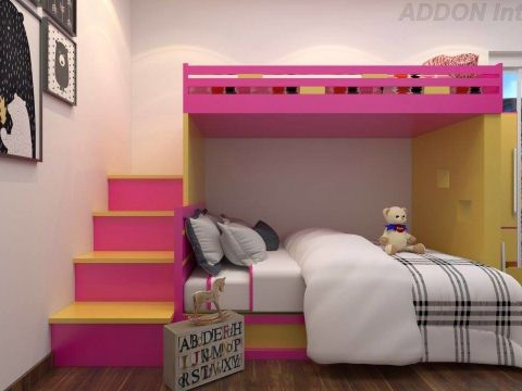NURSERY/KID'S ROOM  ADDON Interiors