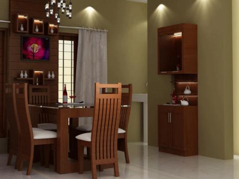 DINING ROOM  Ajith Interiors