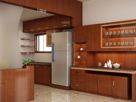 KITCHEN  AK Constructions and Interior Designers