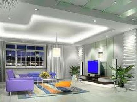 LIVING ROOM  Alpha Omega Interior Designers and Architects