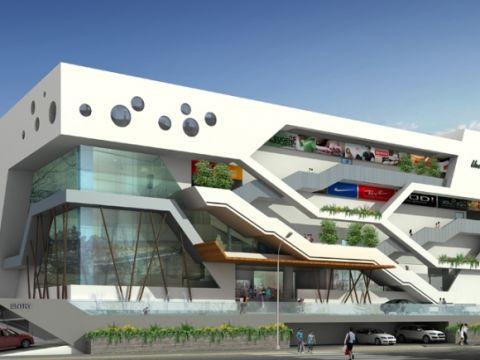 SHOPPING CENTRES  Anudeep and Associates Architects
