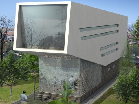 COMMERCIAL SPACES  Anudeep and Associates Architects