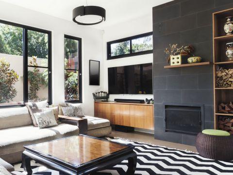 LIVING ROOM  Atom Interiors