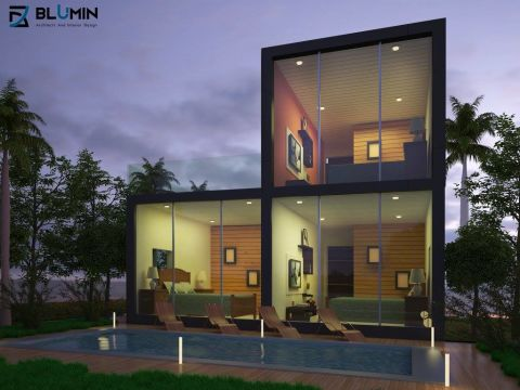 HOUSES  BLUMIN ARCHITECTS AND INTERIOR DESIGN
