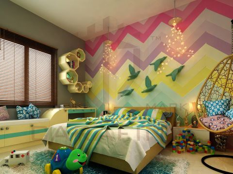 NURSERY/KID'S ROOM  Carafina Interior Designers