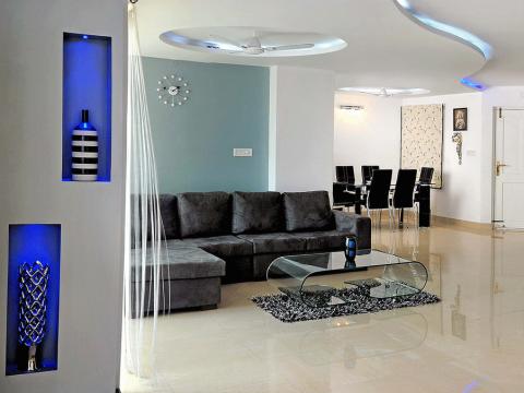 LIVING ROOM  Chammany Interiors