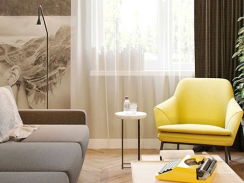 LIVING ROOM  Chippendale Interio
