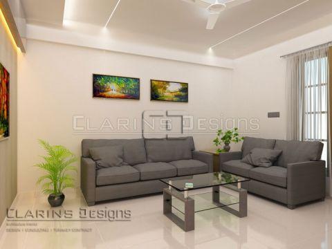 LIVING ROOM  Clarins Designs