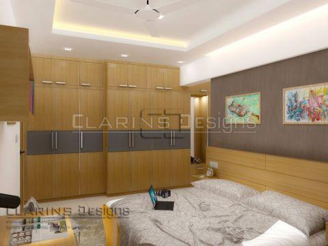 BEDROOM  Clarins Designs