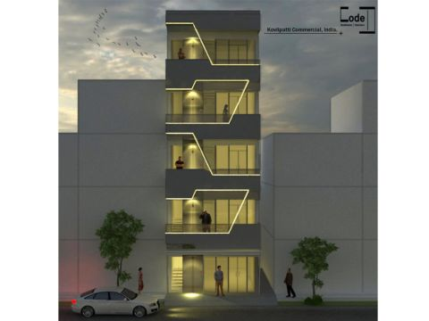 COMMERCIAL SPACES  Code D Architects
