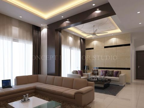 LIVING ROOM  Concept Interiors