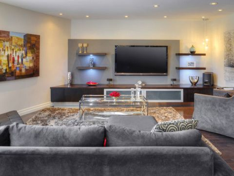LIVING ROOM  Cookscape Designs