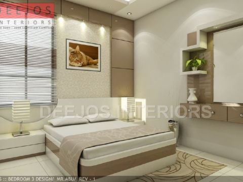 BEDROOM  DEEJOS INTERIORS PVT LTD